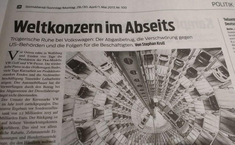 Kapitalverbrechen – Weltkonzern im Abseits