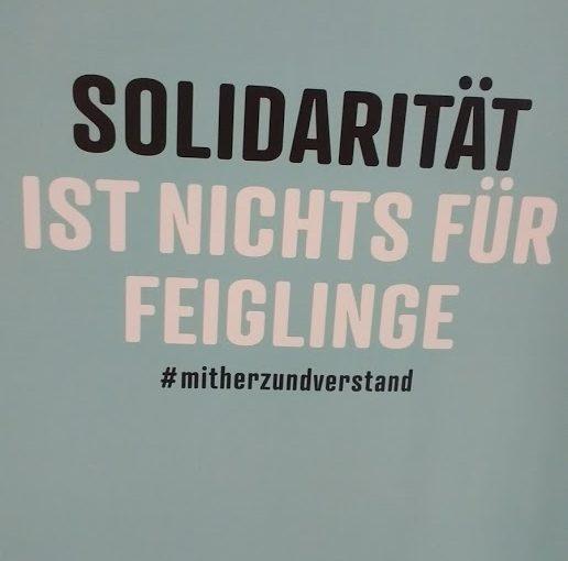 Solidarität ist unsere Waffe!